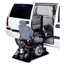 Mr Wheelchair AL690 Platform Lift