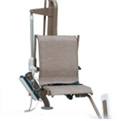 Mr Wheelchair P300 Low Profile Sleeve-Mounted Pool Lift