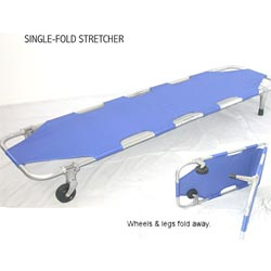 Mr Wheelchair  Single- / Double-fold Stretcher