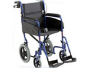 Mr Wheelchair Alu Lite Transit Chair with Assistant Breaks