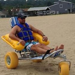 Mr Wheelchair Beach Wheelchair 1