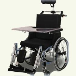 Mr Wheelchair A2 - Positioning