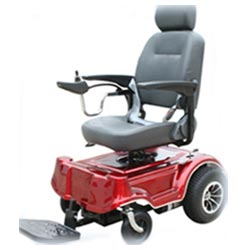 Mr Wheelchair Big T Foldable Power 22