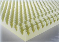 Egg Box Foam Mattresses Topper