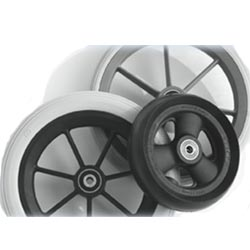 Mr Wheelchair Front Wheel Castors, with or without Fork- Solids Only